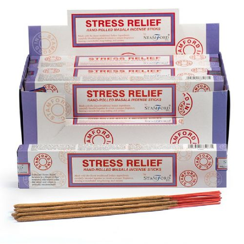 12 Stress Relief Stamford Masala Incense Sticks